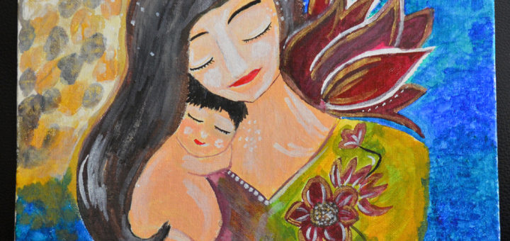 Canvas_mother_child