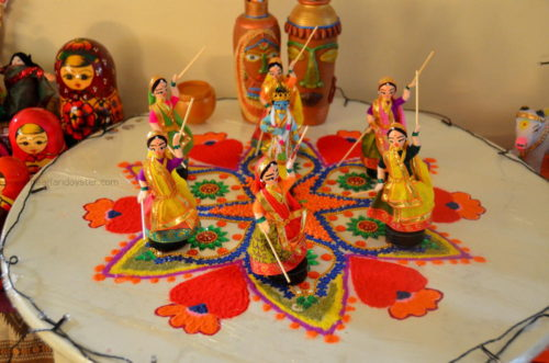 Golu During Navratri