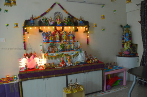 Our Golu for Navratri