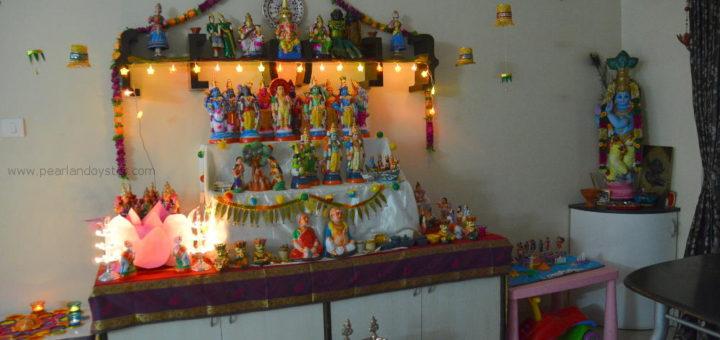 Our Golu for Navratri