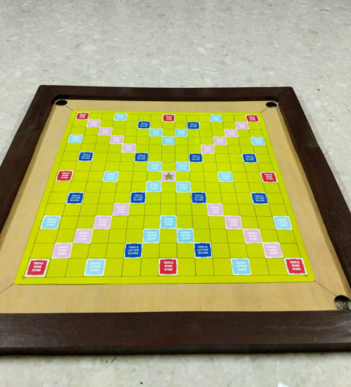 diy magnetic scrabble board